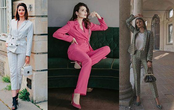 راهنمای خرید بهترین کت و  شلوار مجلسی زنانه+مدل های جذاب