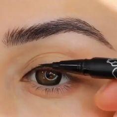 خط چشم مدادی